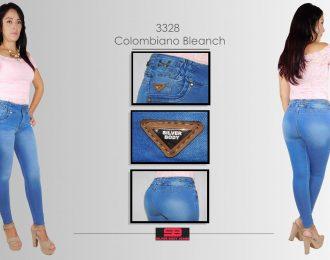 Jeans corte colombiano,tobillero para dama modelo 3328