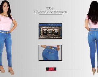 Jeans corte colombiano para dama modelo 3332